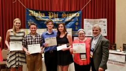 EKU Criminal Justice Honor Society Garners Awards at Annual Conference